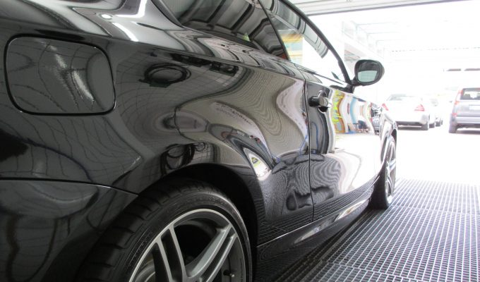 BMW 1er M1 Felgen Versiegelung Reinigung Pflege Lack Glanz Hologramme Nano